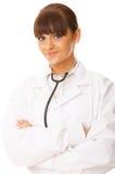 femelle de docteur Photo stock