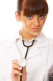 femelle de docteur Image stock