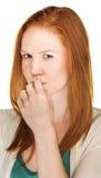 Femelle intrigante Photos stock