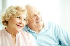Femelle pluse âgé avec du charme Photos libres de droits