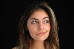 Femelle portrait-1 photos stock