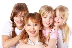 Femelles heureuses Photographie stock libre de droits