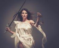 Femida, déesse de justice Image libre de droits