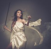 Femida, Goddess of Justice Royalty Free Stock Images