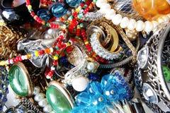 Feminine accessory set Royalty Free Stock Image