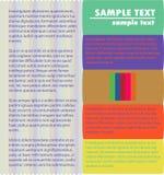 Feminine background. Colorful stripes back ground design Royalty Free Stock Image