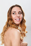 Feminine beauty Stock Image