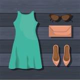 Feminine fashion design. Illustration eps10 graphic Stock Image