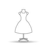 Feminine fashion design Royalty Free Stock Images