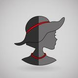 Feminine fashion design. Illustration eps10 graphic Royalty Free Stock Photos