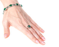 Feminine hand Royalty Free Stock Photography