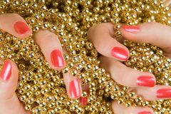 Feminine Hand Royalty Free Stock Image