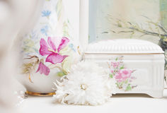 Feminine interior Royalty Free Stock Images