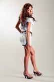 Feminine model posing Stock Images