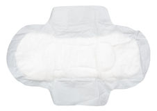 Feminine pads. On white background Stock Images