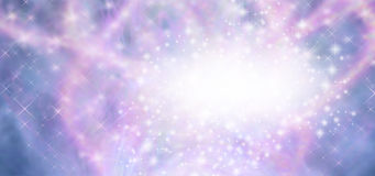 Bling Glitter Sparkling Feminine Banner Royalty Free Stock Photo