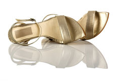 Feminine sandals Royalty Free Stock Photography