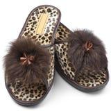 Feminine slippers Stock Images