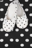 Feminine slippers Royalty Free Stock Photo