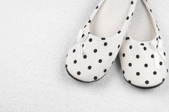 Feminine slippers Stock Images
