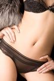 Feminine torso Stock Images