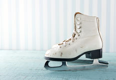 Feminine winter sports concept Royalty Free Stock Image