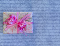 Feminine Wrapped Gift Stock Photos