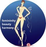 Femininity.beauty.harmony Stock Photos