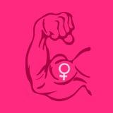 feminism illustration de vecteur