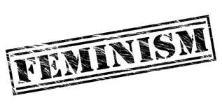 Feminism black stamp Stock Photos