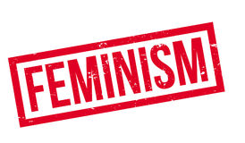 Feminism rubber stamp Royalty Free Stock Photos