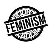Feminism rubber stamp Stock Photos