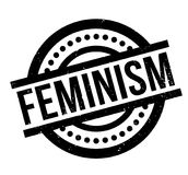 Feminism rubber stamp Stock Photo