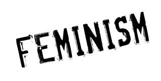 Feminism rubber stamp Royalty Free Stock Image
