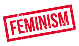 Feminism rubber stamp Royalty Free Stock Photography