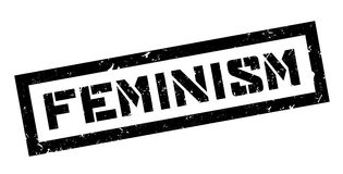 Feminism rubber stamp Stock Photos