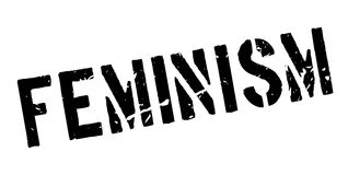 Feminism rubber stamp Royalty Free Stock Photo