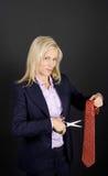 Feminist businesswoman concept Royalty Free Stock Photos
