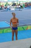Femke Pluim, Dutch pole vault athlete Stock Images