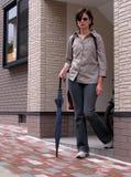 Femme à la maison Photographie stock libre de droits