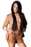 Femme à la mode élégante photos libres de droits