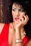Femme à la mode élégante photographie stock