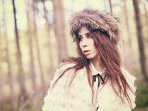 Femme à la mode Photographie stock