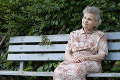 Femme âgée photos stock