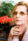 Femme âgée moyenne Images stock