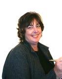 Femme âgée moyenne d'affaires photographie stock libre de droits