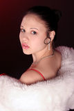 Femme étonnant Photographie stock libre de droits