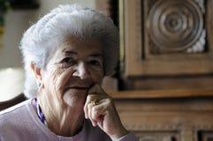 Femme aîné Image stock