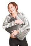 Femme #333 d'affaires Images libres de droits