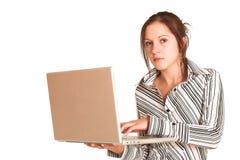 Femme #354 d'affaires Image libre de droits